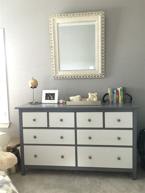 painting ikea dresser ikea hack project with the all white hemnes dresser