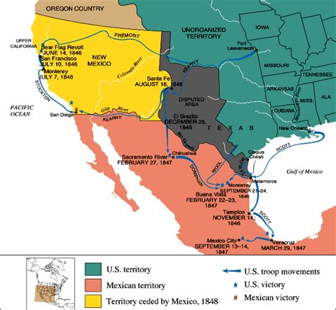 map us before mexican war untitled document users humboldt edu