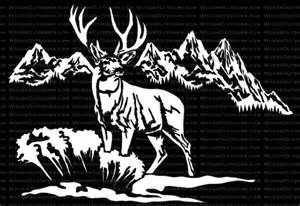 mountain mulie mule deer hunting window decal bow hunting window decals archery on pinterest compound