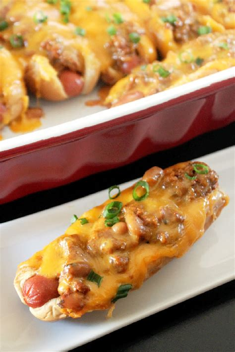 baked dogs baked chili cheese dogs creole contessa