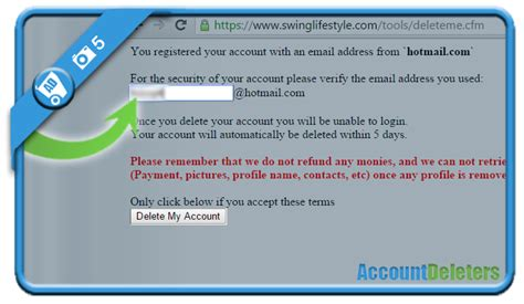 lifestyle swing how to delete my swinglifestyle account accountdeleters