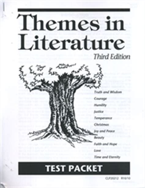 themes of old english literature themes in literature test packet old exodus books