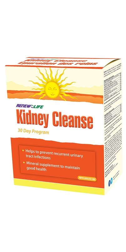 Renew Kidney Detox by Buy Renew Kidney Cleanse At Well Ca Free Shipping