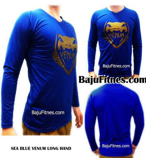 Baju Kaos Venum Blue 089506541896 tri model kaos fitnes pria baju olahraga