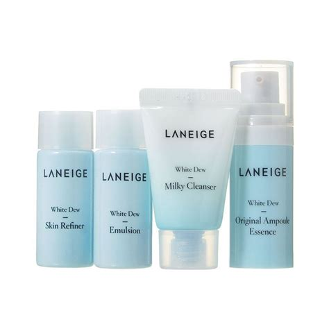 Harga Laneige Trial Kit White Dew etop brand laneige white dew trial kit 4 items