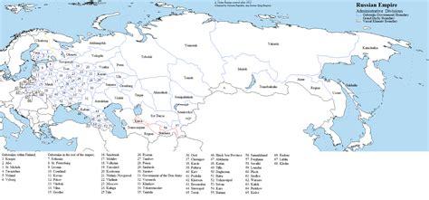 russian empire map russian empire as an autonomous