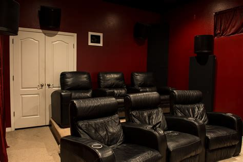 how to make a theater room klipsch la scala trio home theater room build klipsch