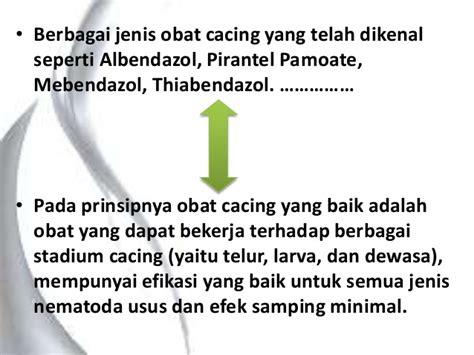 Obat Cacing Pirantel cacingan dan obat cacing farmokologi by pangestu chaesar