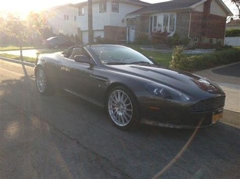 hayes car manuals 2006 aston martin db9 volante free book repair manuals find used 2006 aston martin db9 volante conv 6 speed in roslyn new york united states