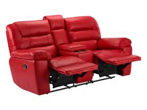 Small Electric Recliners Small Sofa With Electric Recliners Faux Leather