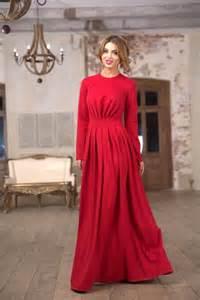 vestido vermelho longo 50 modelos e como usar