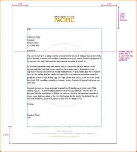 Spacing In Business Letter Template 10 Business Letter Format Spacing Contract Template