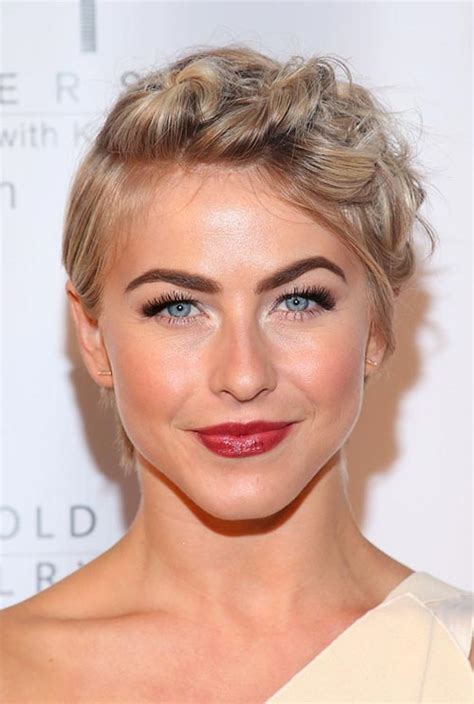 crown braid short hair hairstyles cool updo hairstyles for women with short hair fashionisers