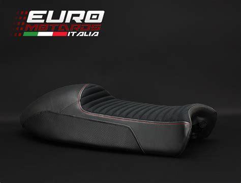 moto guzzi v7 seat cowl moto guzzi v7 racer 2011 2016 luimoto suede seat cover new