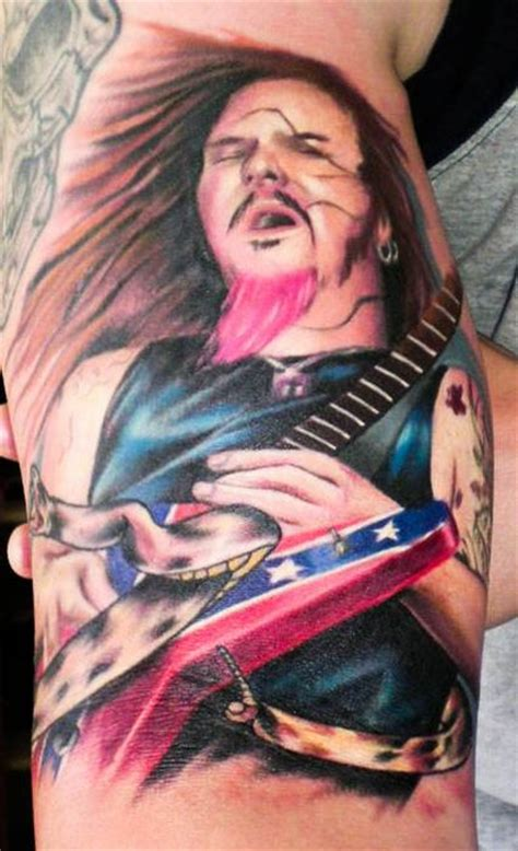 dimebag darrell tribute tattoos 100 pics