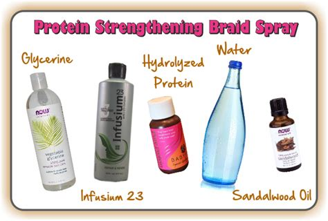 homemade braid spray two surprisingly easy but effective homemade braid sprays
