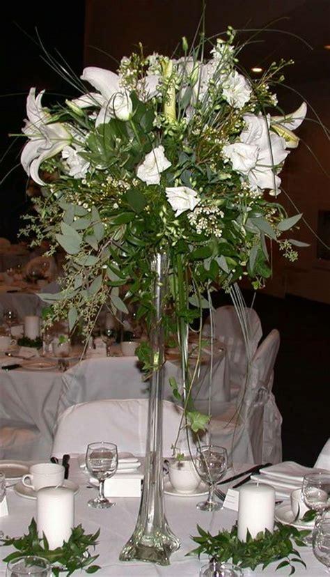 Eiffel Tower Vase With Flowers Pin By Kensington Florist On Reception Flowers Pinterest