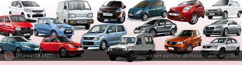 Genuine Suzuki Car Parts Auto Parts Udawatta Motors