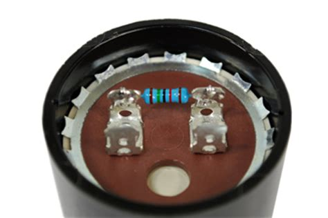replace capacitor with resistor motor capacitor faq on start run capacitors