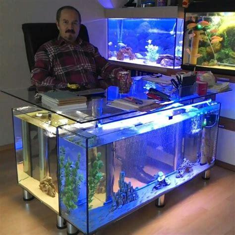 Murah Kaleng Kerupuk Mini Kaca Empat Sisi meja aquarium ini keren sekali ferboes