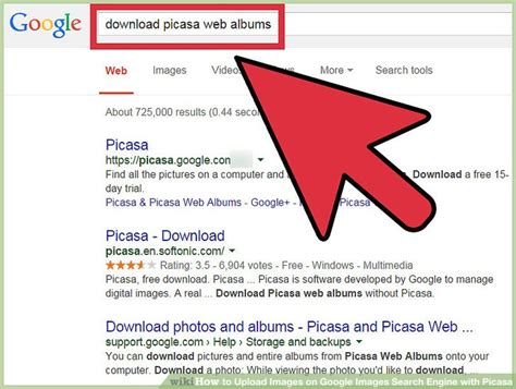 Search On Gmail How To Upload Images On Images Search Engine With Picasa