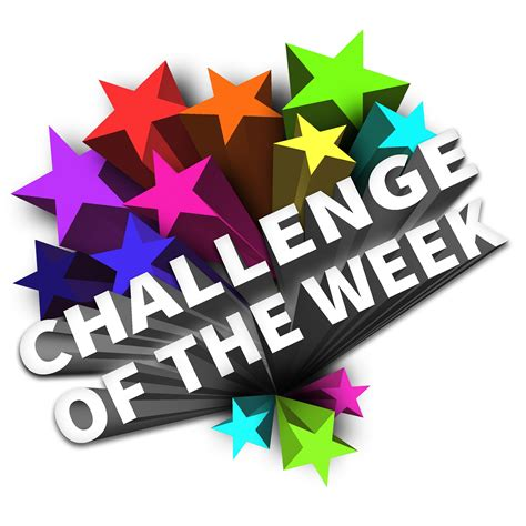 challenge of the challenge of the week