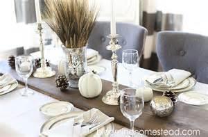 Dining Room Table Runner diy rustic wood table runner blooming homestead