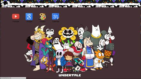google themes undertale undertale theme no white space all images chrome theme