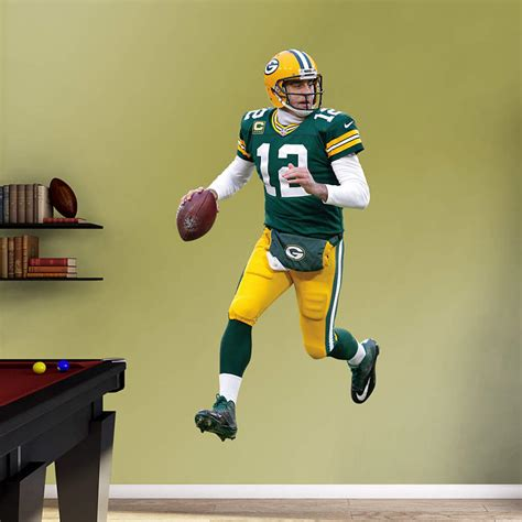 nfl fatheads wall stickers shop green bay packers wall decals graphics fathead nfl