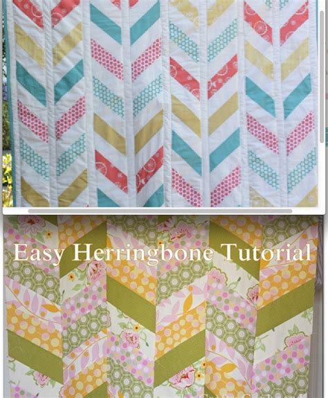 quilt pattern herringbone herringbone quilt tutorial could be done with or without