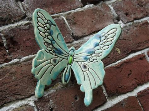 ceramic butterfly  wall ceramics pottery designs