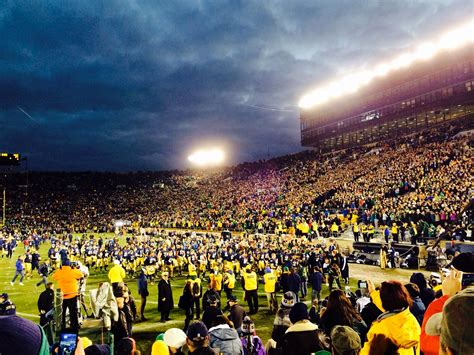 Notre Dame Mba Admissions Staff by 5 Tips On How To Do Notre Dame Football The Ndmba Way