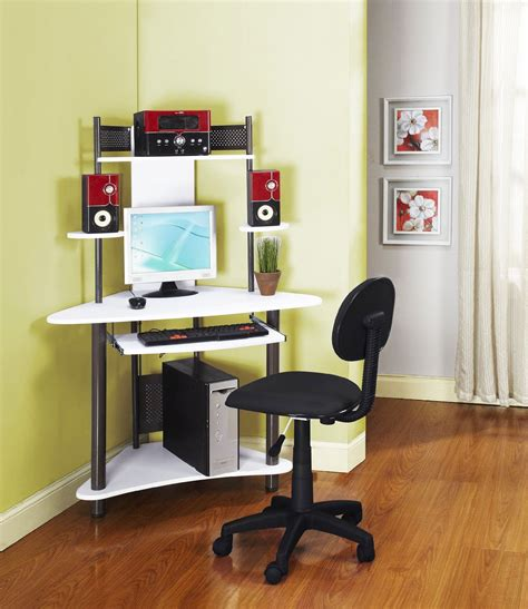 small corner computer desks for home modern white corner computer desk for home studio