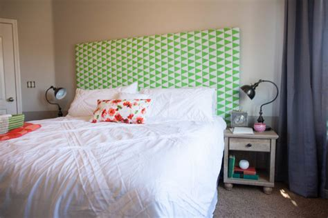 all things thrifty headboard guest room reveal