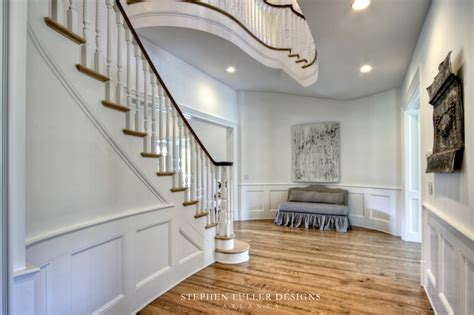 hall in house designs a classic american house in north atlanta traditional hall atlanta by stephen fuller designs