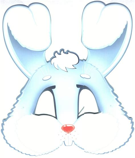 printable rabbit mask template 64 free kids face masks templates for halloween to print