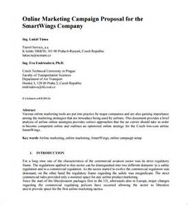 marketing proposal templates 26 free word excel pdf