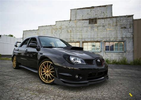 subaru gold black subaru with gold wheels mmm cars
