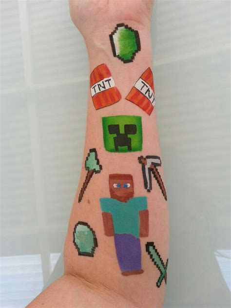 minecraft tattoos minecraft pinterest