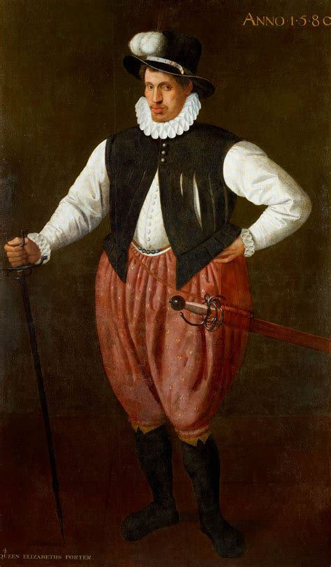 Pied Epingle 1548 by Attributed To Cornelis Ketel 1548 1616 Portrait Of A
