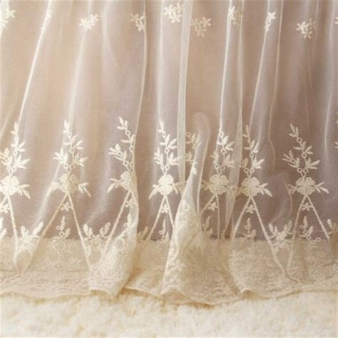 lace bed skirt custom made bedskirts bedding