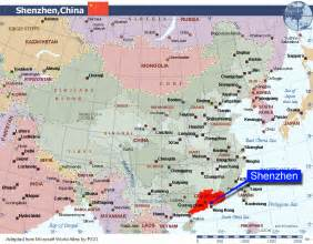 Maps nice shenzen map dining and transportation in china asia