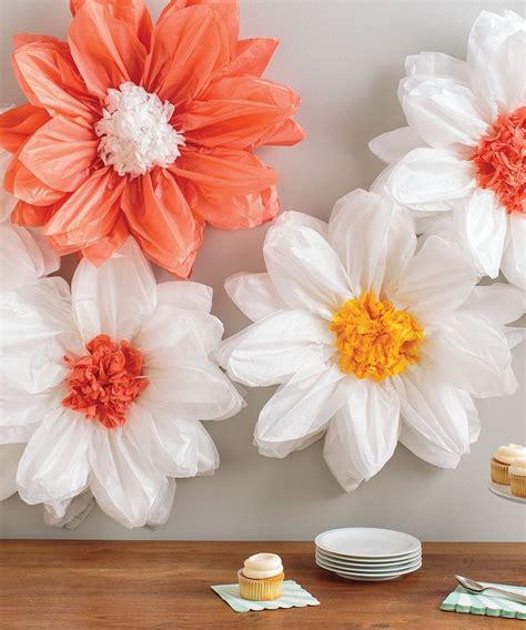 How To Make Tissue Paper Daisies - martha stewart crafts pom pom kit martha stewart