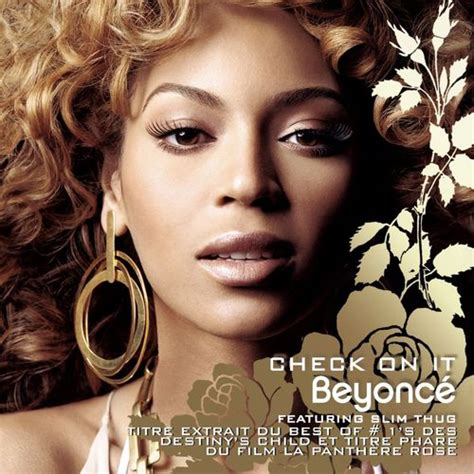 beyonce songs on album beyonc 233 check on it feat slim thug music streaming