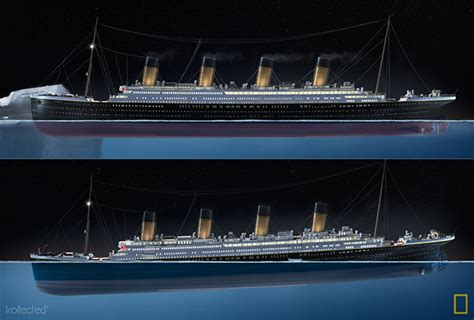 in what year did the titanic sink titanic 100 on behance