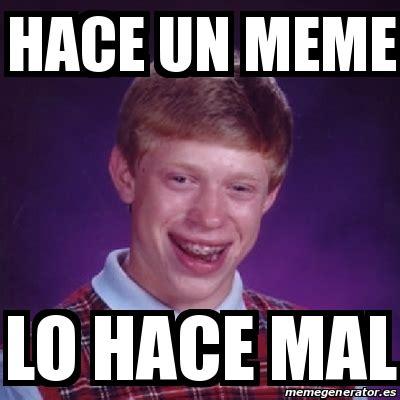 Crear Un Meme - meme bad luck brian hace un meme lo hace mal 21860216