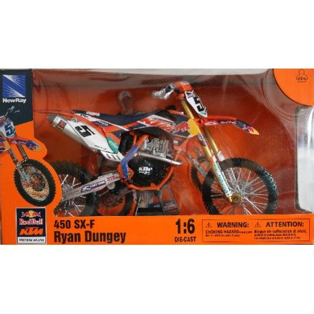 New 16 450 Sx F Dungey maquette moto cross ktm factory racing 450 sx f