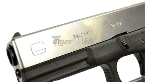 Airsoft Masterpiece Steel Frame Sv Silver we metal slide g17 gbb pistol 4 frame version sv bk airsoft tiger111hk area