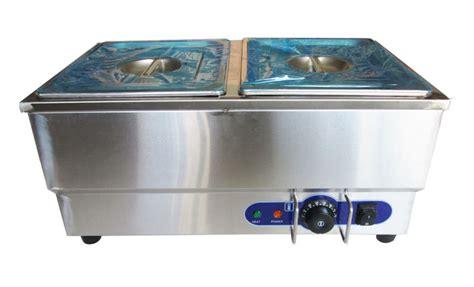 110v 2 pan commercial buffet bain marie food warmer steam