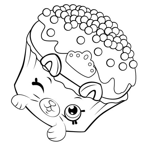 Shopkins Coloring Pages Best Coloring Pages For Kids Printable Pictures For
